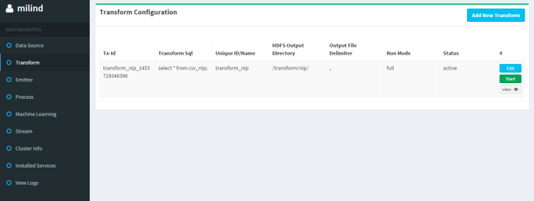 Once you save the configuration, it will look like this