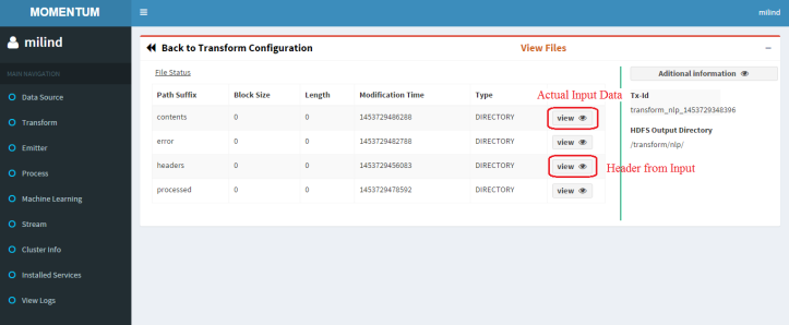 headers will contain the header file contents will have the contents file