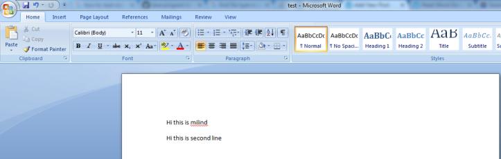 Input File