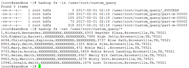 HDFS Output