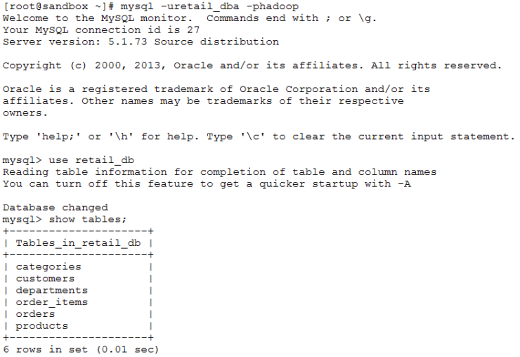 Table existence in MySQL