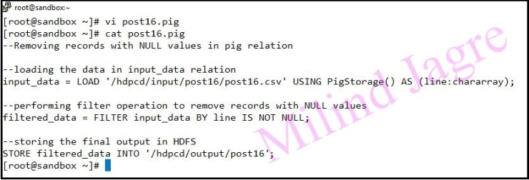 pig script for NULL removal