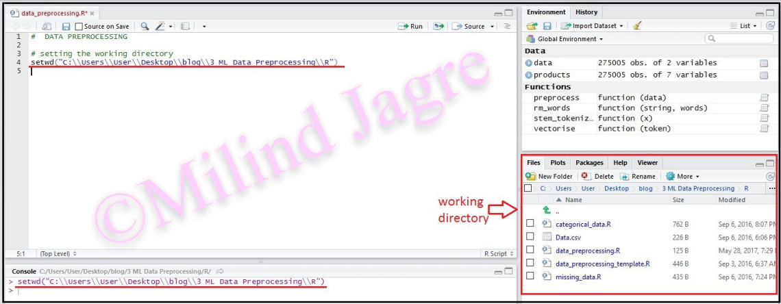 Step 1: Setting Working Directory